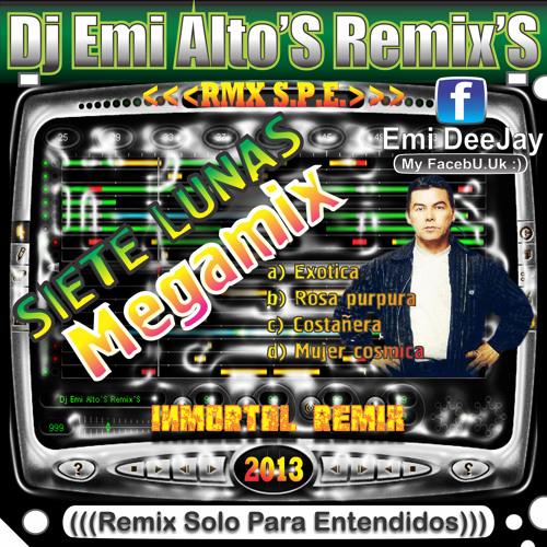 SIETE LUNAS - Megamix (((',','Dj Emi Alto'S Remix'S',','))) '13