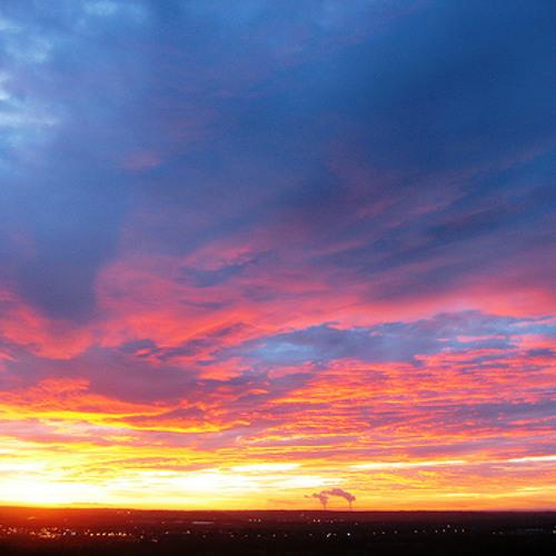 Sunday's Morning Sky