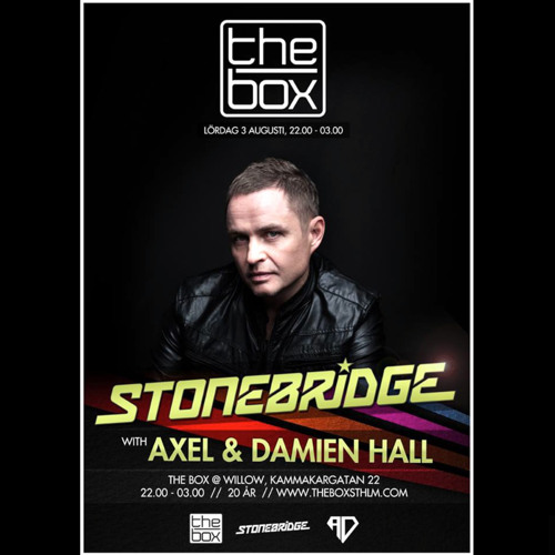 StoneBridge Live @ The Box, Stockholm August 3, 2013