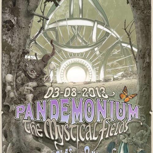 Johnny Napalm @ Pandemonium Festival - The Mystical Fields(Ouderkerkerplas, NL 03 - 08- 2013)