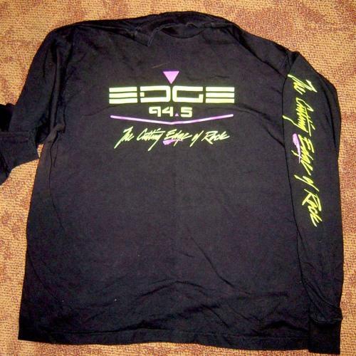 Edge T-Shirt Promos - 94.5 KDGE The Edge - April 1992