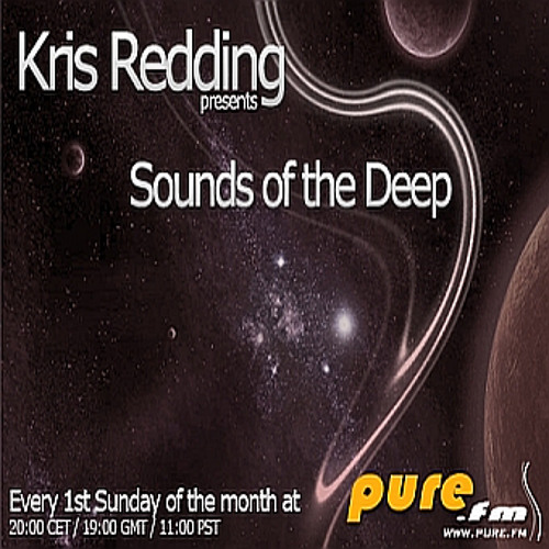Kris Redding - Sounds of the Deep 044 on Pure.FM (Aug 4th 2013)