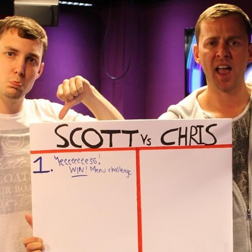 Scott Vs Chris - day 1, the menu challenge