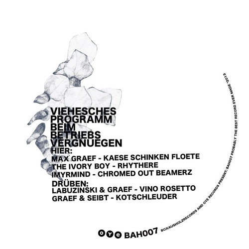 (BAH007): A1. Max Graef - Kaese Schinken Floete