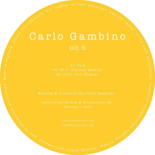 Carlo Gambino 00.5 (Ceri Remix) *Clip* OUT NOW!