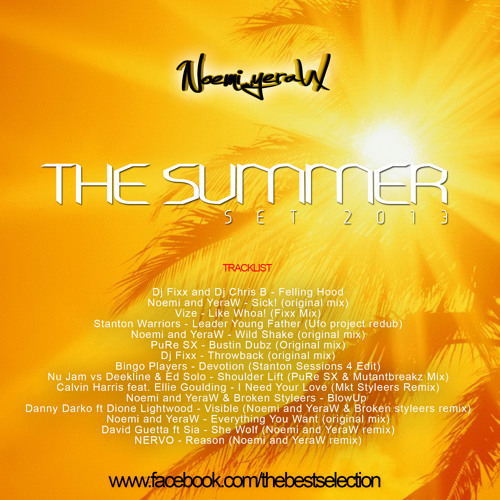 Noemi and YeraW - THE SUMMER set 2013 [FREE DOWNLOAD]