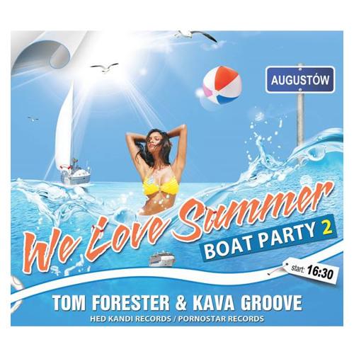 Kava Groove Live @ Boat Party 2, Augustów - 03/08/2013