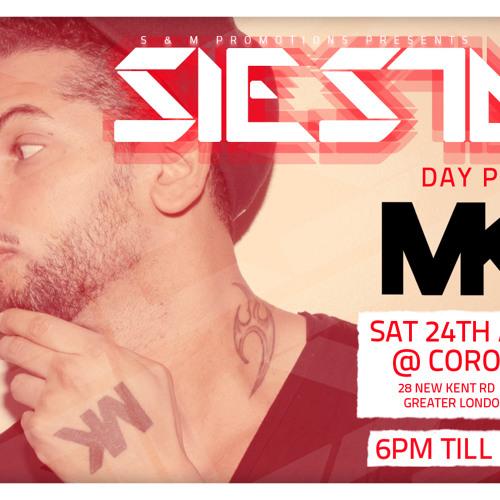 Siesta Presents 'MK' - DJ Majesty Mix