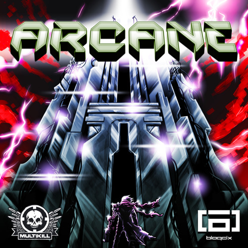 Blaqcix- Arcane with Phrenik and Dub Zero  remixes (clips) OUT TODAY on Beatport !!!