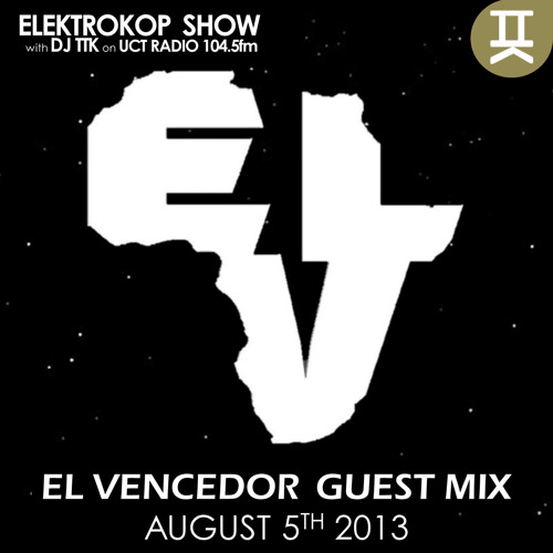 Guest Mix  #ELEKTROKOPSHOW with TTK August 5th, 2013.