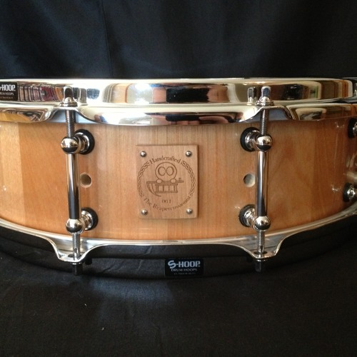 """#004 - 4.5""""x14"""" Birch Stave Snare - Single Hits"""