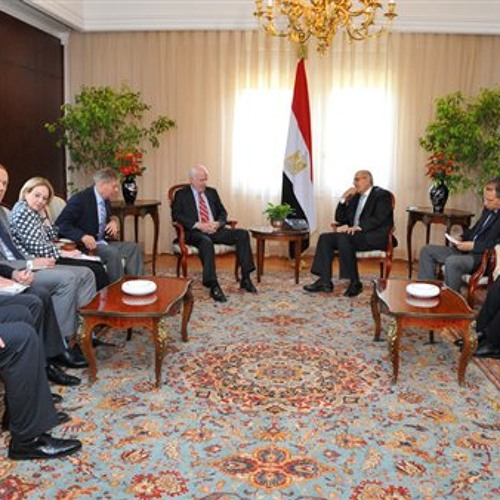 U.S. Senators in Egypt