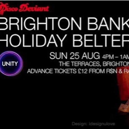 Fingerman - Disco Deviant Bank Holiday Belter Warm Up Mix