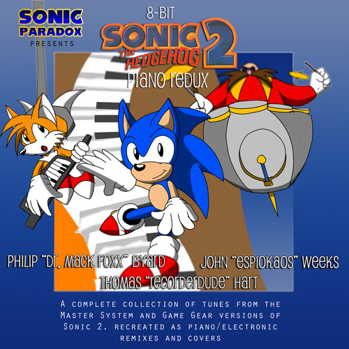 16 8-Bit Sonic 2 Piano Redux- Bad Ending [Game Gear] Staff Roll [Master System]