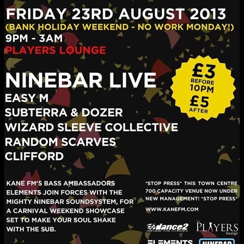 Kane FM Eventscast 02: Elements - Subterra & Dozer