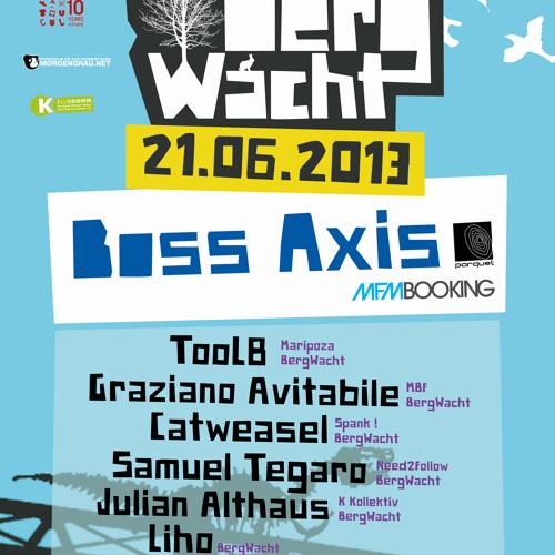 TooL8 @ Bergwacht Odonien Warm-Up Mix 21.06.2013