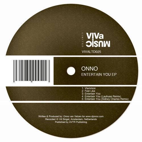 ONNO - Entertain You (Sidney Charles remix) |VIVa MUSiC Limited|