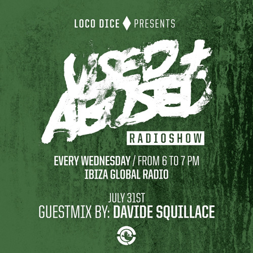 USED+ABUSED RADIO SHOW #8 - DAVIDE SQUILLACE