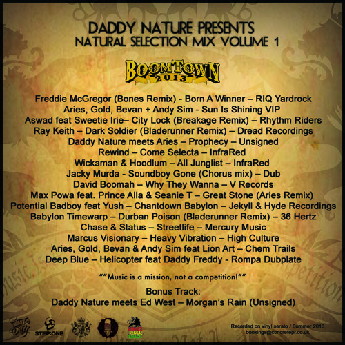 Rompa's Reggae Shack - Daddy Nature - Boomtown Festival Mix