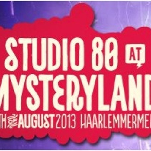 Bram Fidder - Studio 80 @ Mysteryland 2013 Podcast