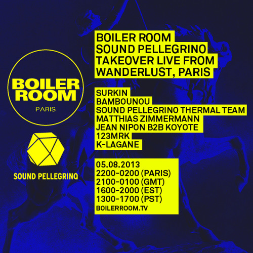 Surkin 30 min Boiler Room Paris mix