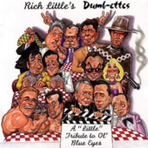 Rich Little My Way George Bush Ronald Reaga By Uproar Comedy