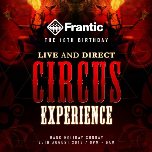 Frantic 16th Birthday Part 1 Mixed By The Edison Factor