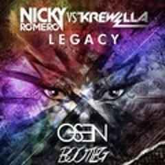 Nicky Romero & Krewella - Legacy (Save My Life)(Osen Remix)