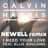 Calvin Harris - I Need Your Love Ft. Ellie Goulding (Newell Remix)