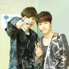 EXO's Baekhyun Chanyeol - Love Song [08.08.13 Boom's Youngstreet]