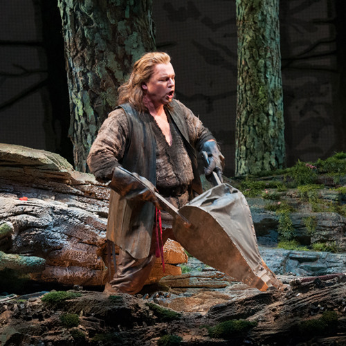 Seattle Opera RING: Stefan Vinke forges Siegfried's sword