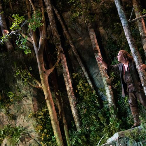 JENNIFER ZETLAN as the Forest Bird