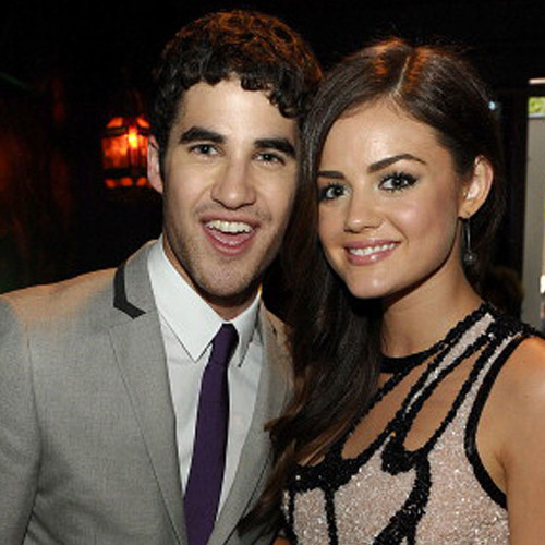 Direct from Hollywood: Darren Criss Hand Picked Lucy Hale to Cohost 2013 'Teen Choice Awards'