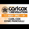 NIC FANCIULLI B2B CARL COX @ SPACE IBIZA - 6/8/13