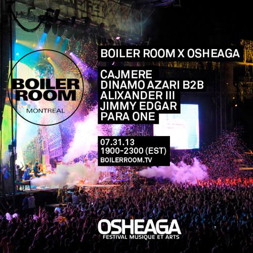 Para One DJ Set @ Boiler Room x Osheaga Festival