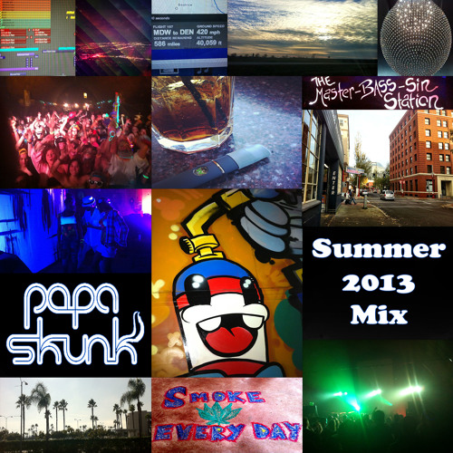 Papa Skunk - Summer 2013 MIx