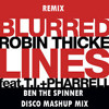 Blurred Lines (Ben The Spinner Disco Mashup Mix) - Robin Thicke Feat. T.I & Phar...
