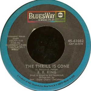The Thrill is Gone (A Pied Piper Remix) FLAC  by BB King