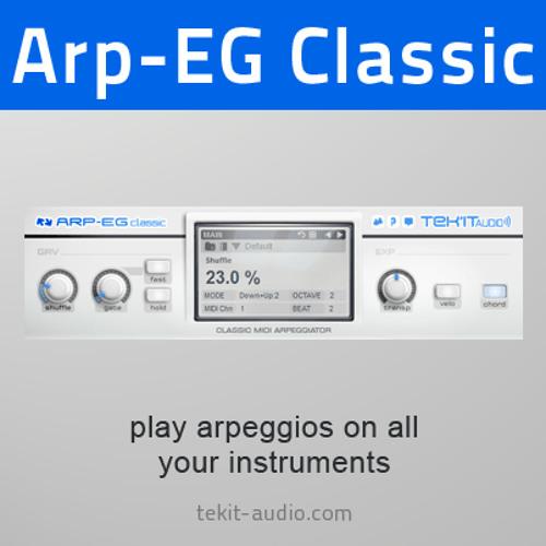 Presets demo (Arp-EG classic)