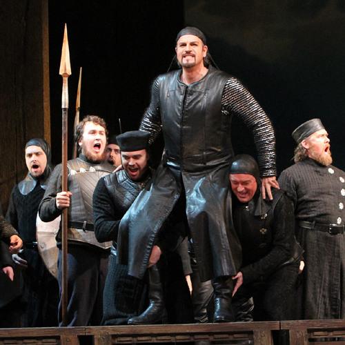 Seattle Opera RING: Chorus of Gibichung Vassals