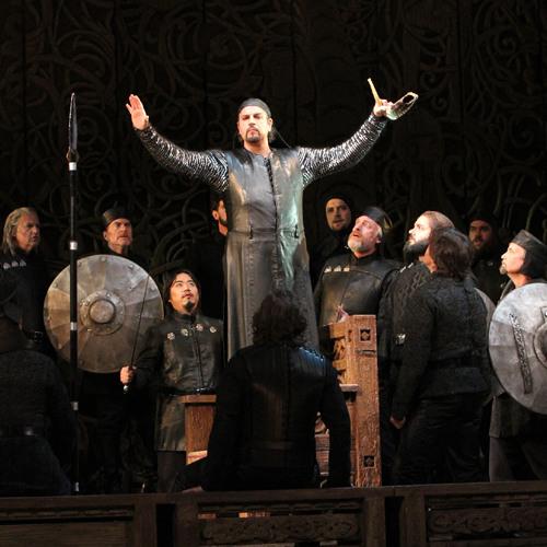 Seattle Opera RING: Daniel Sumegi as Hagen