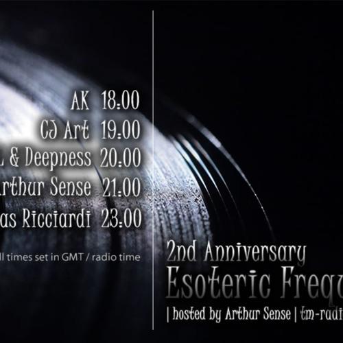 Arthur Sense - Esoteric Frequencies 2nd Anniversary [August 2013] on tm-radio.com