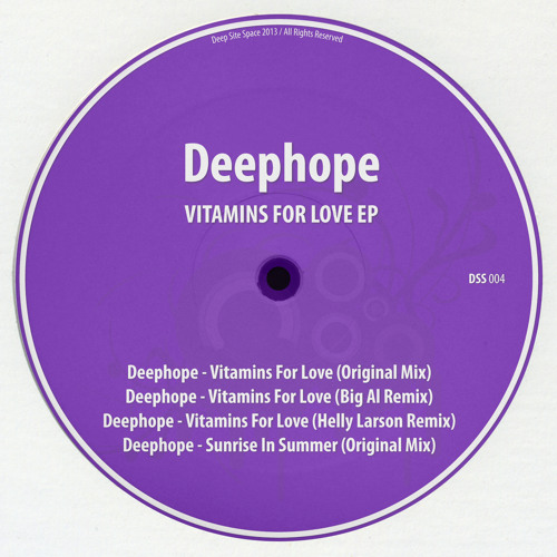 Deephope - Vitamins For Love EP [Deep Site Space]