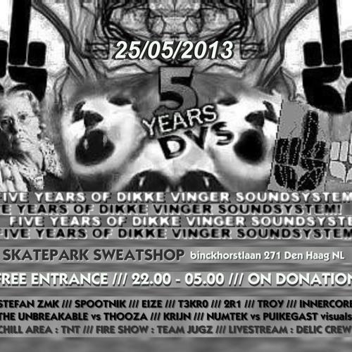 STEFAN ZMK @ 5 Years DVS - 25/05/2013 - The Hague NL