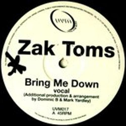 Zak toms -  Bring Me Down (Max Chapman Edit)