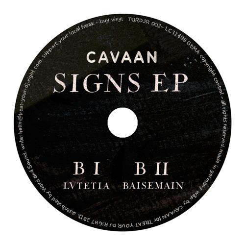 "TURDJR 002 - CAVAAN - BAISEMAIN - ( ORIGINAL MIX ) - 12"" SNIPPET"