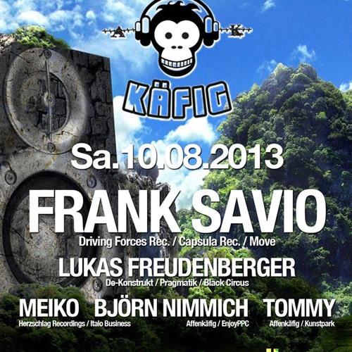 Lukas Freudenberger @ AFFENKÄFIG (Kunstpark - 10.08.13)