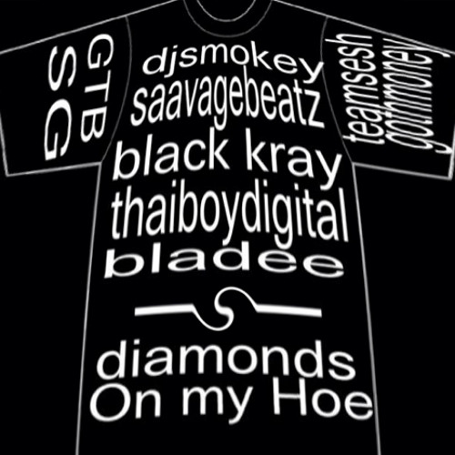 Black Kray+Thaiboy Digital+Bladee - DIAMONDS