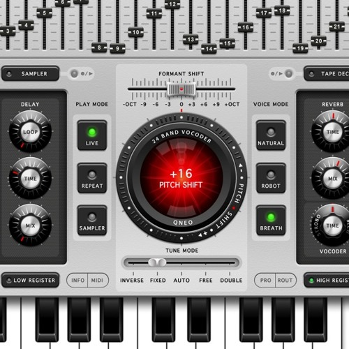 Voice Synth Rhythms