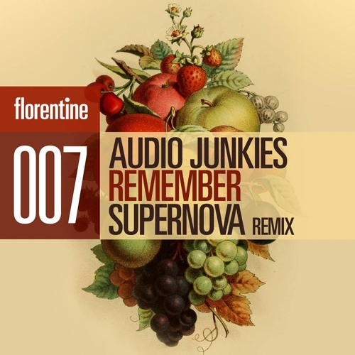 "Audio Junkies ""Remember"" (Supernova Rmx) [Florentine Rec] preview"